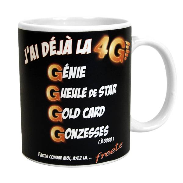 mug tasse rigolo drole humoristique j 39 ai d ja la 4g tee shirts tasses objets humour boutique. Black Bedroom Furniture Sets. Home Design Ideas