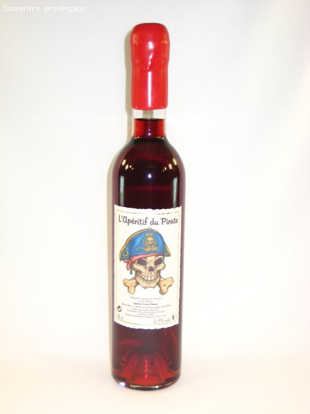 Vin Apéritif Du Pirate 50 cl (Cerise Piment)
