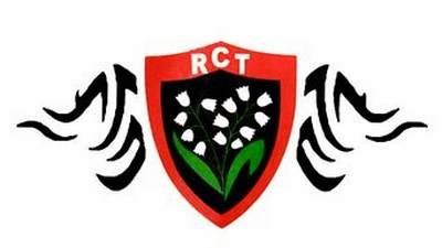 Tatoo RCT Rugby Club Toulonnais
