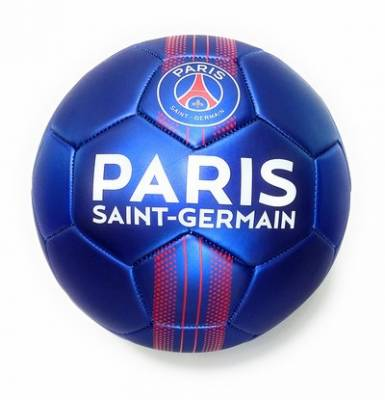 Ballon Métal Bleu PSG Paris ST Germain T5
