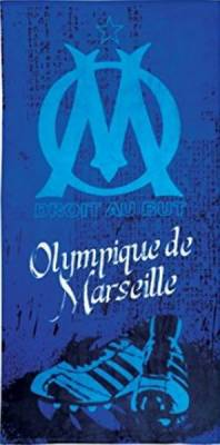 Drap De Bain Droit au But Olympique OM