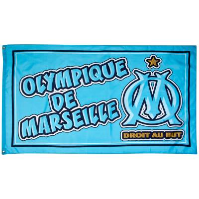 Drapeau OM Droit Au But