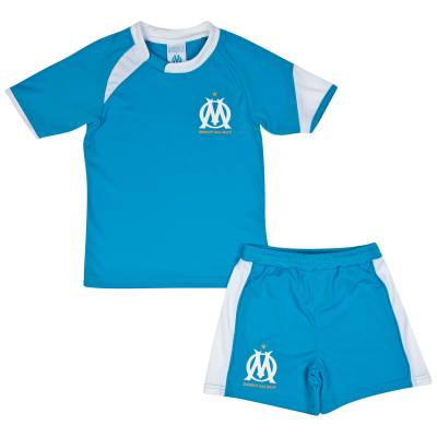 Ensemble Short et Tee Shirt OM Droit au But Junior
