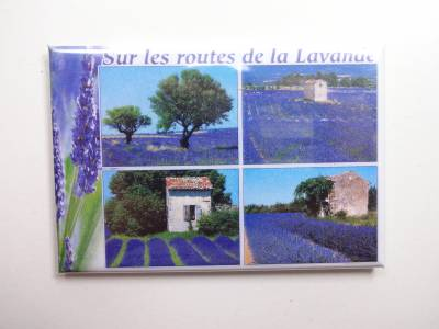Magnet Photo Sur Les Routes De La Lavande