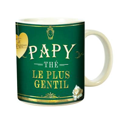 Mug Tasse Humour Papy The Plus Gentil (Vices De Forme)